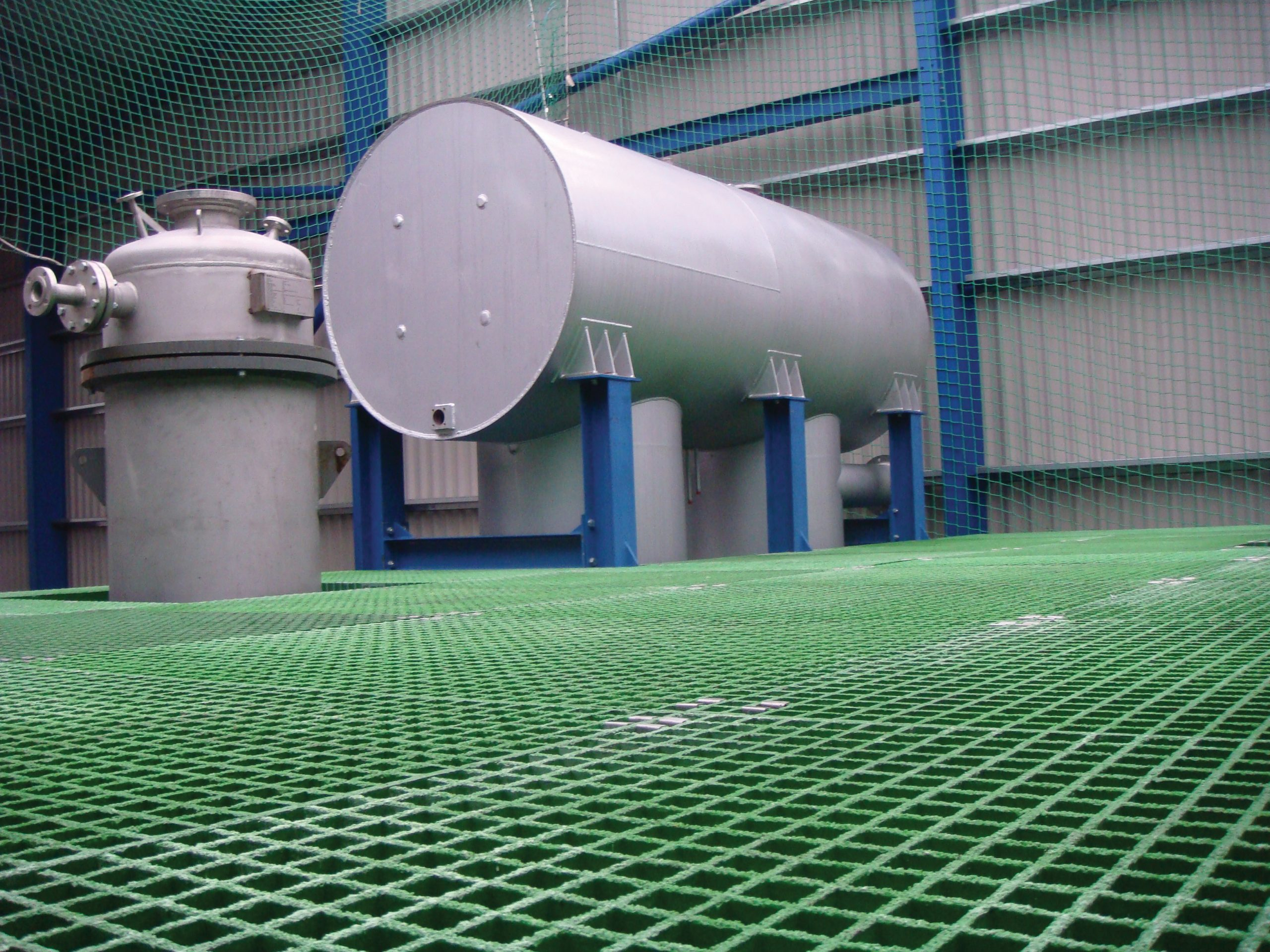 Glass Reinforced Plastic (GRP) Grating